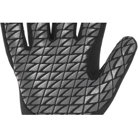Zone3 Neoprene Swim Gloves black/reflective silver